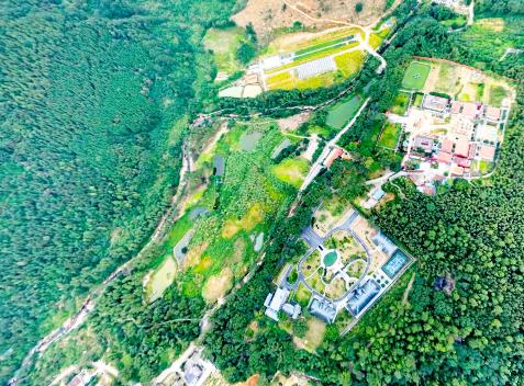 福清灵石山国家森林公园·空中全景