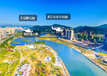 福清龙江·空中全景