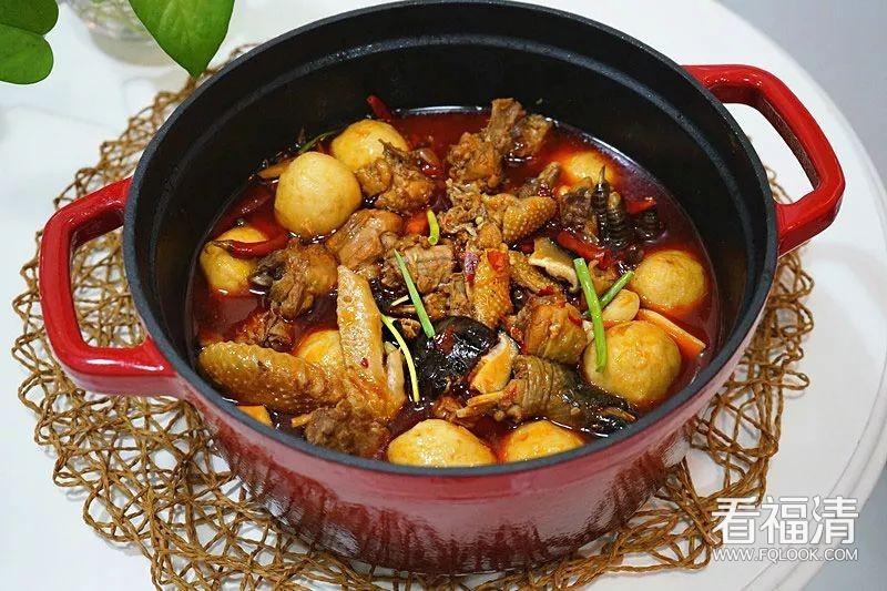 土鸡鱼丸煲:吃一口,是幸福的味道~