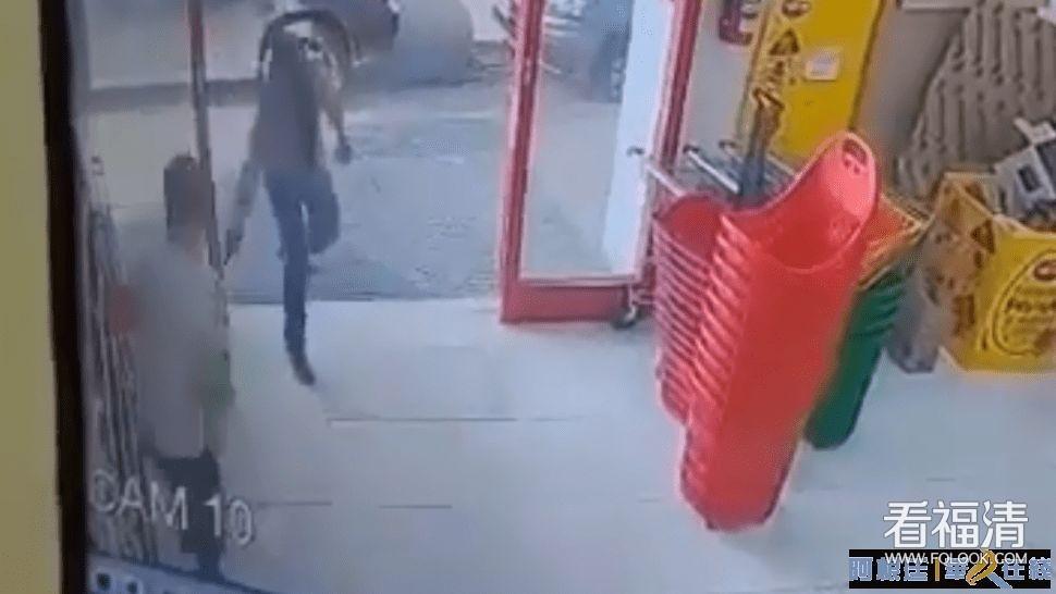 华人超市枪声再起!一名华人店主在阿被打伤膝盖
