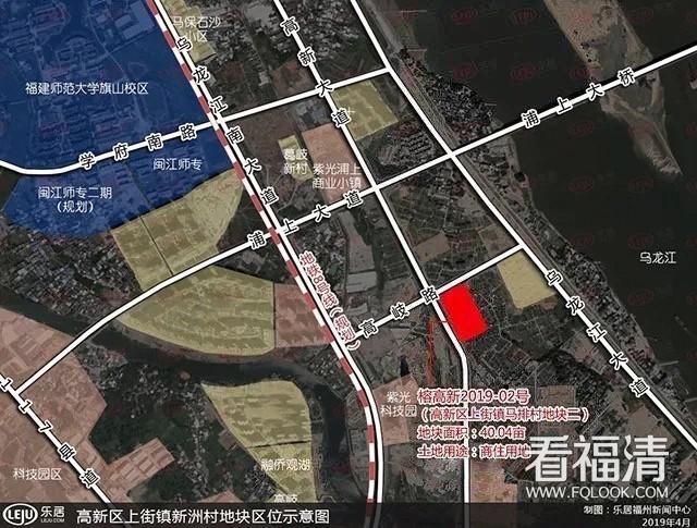 今日,融侨集团成功竞得福州高新区优质商住地块