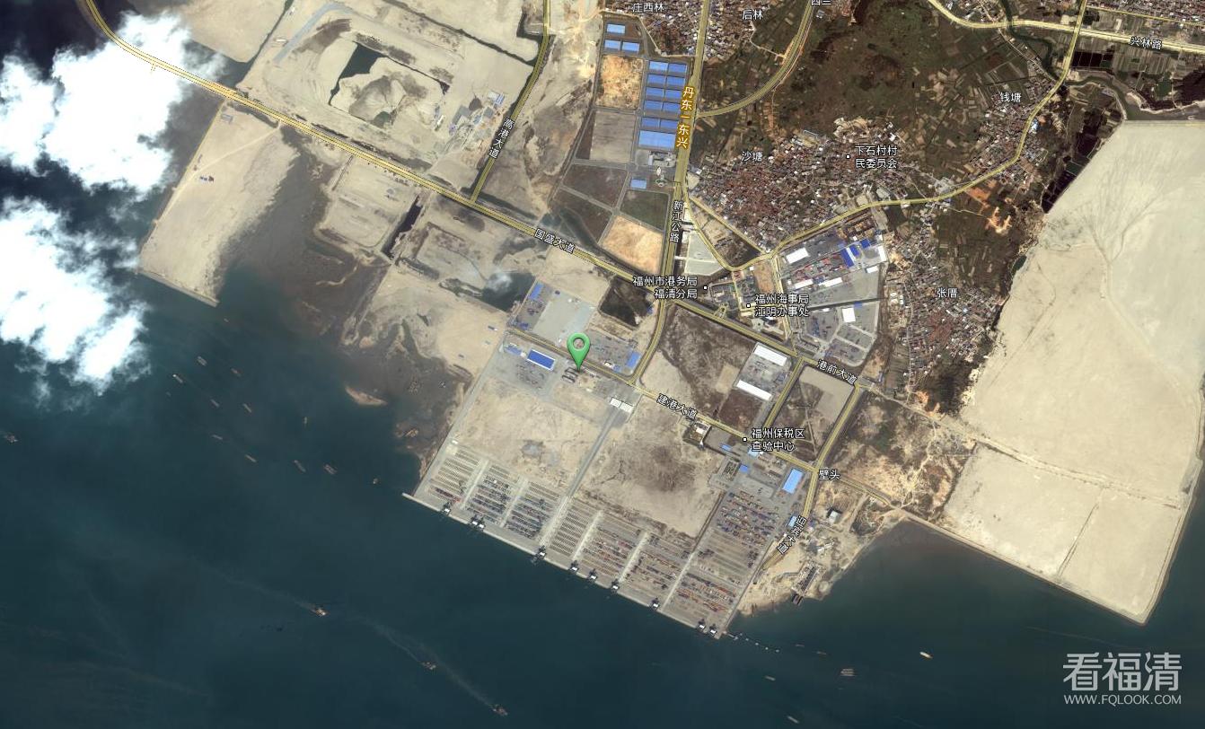 卫星图记录福清变迁