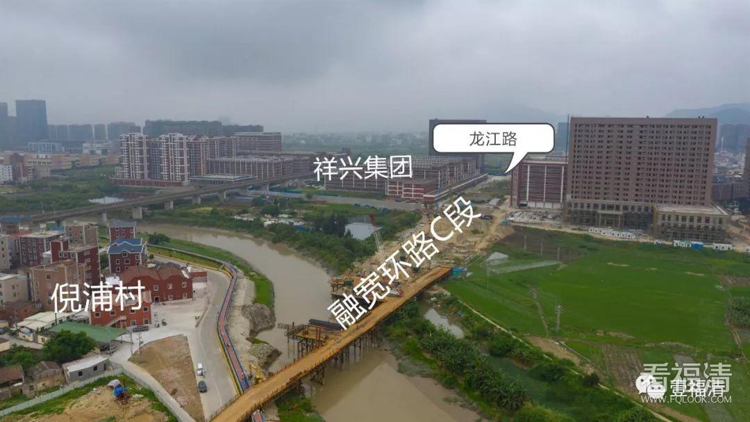 福清龙江大桥工程开工了,去东区和动车站将更方便!