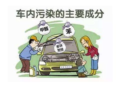 汽车中的异味,不是多通风就能消除的,那么我们应该怎...