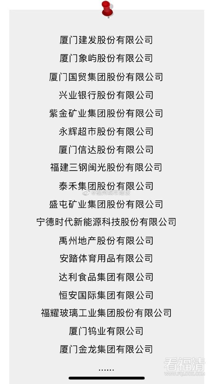 2019年《财富》中国500强排行榜发布,福建一批企业上榜!