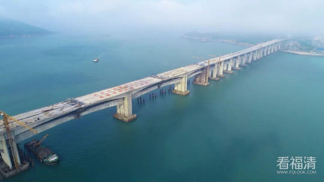 重大节点!平潭海峡公铁两用大桥本岛至小练岛段贯通!