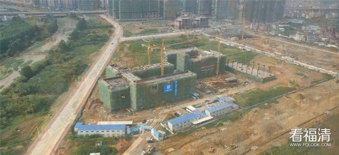 福清市实验小学第二校区最新工程进度(附照片)