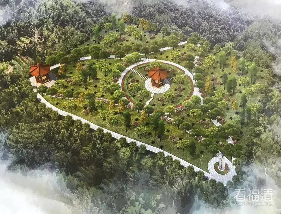 福清新楼村生命公园建设效果图在此!