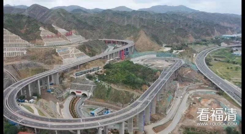 福清企业家投资7.5亿元!兰州创新城中线连接线工程通车
