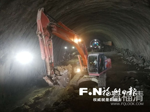 福厦高铁首条隧道顺利贯通,位于福清境内段。