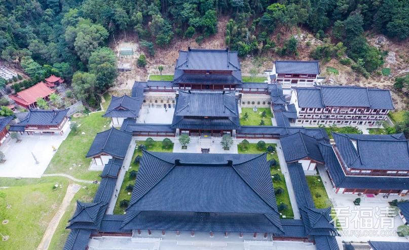 福清黄檗寺 · 空中全景