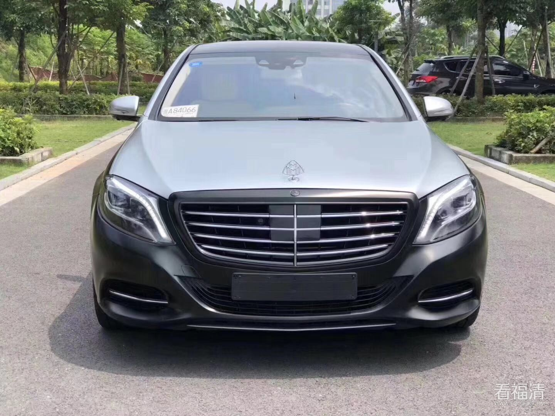 黄江进口车行16奔驰迈巴赫总裁签名版S500-S550