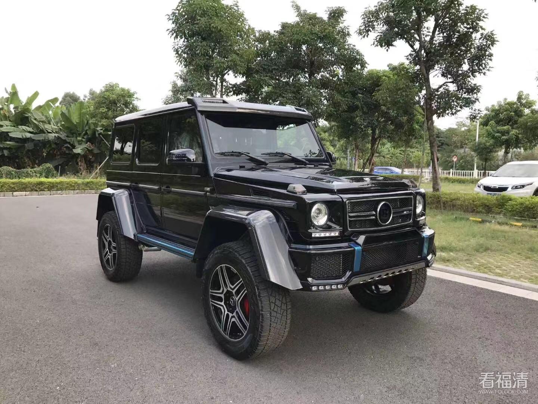 黄江进口车行18年出厂全新德版大G 4X4 G500