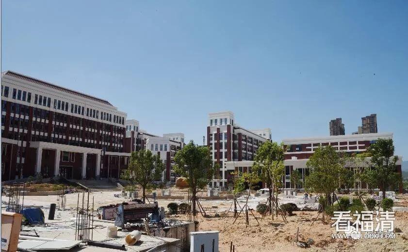 福清这所投资17300万元的学校有望年底竣工验收!
