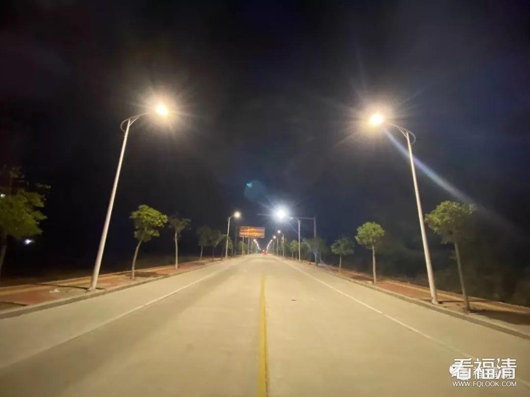 不再摸黑回家,沙埔这里的路灯亮了!