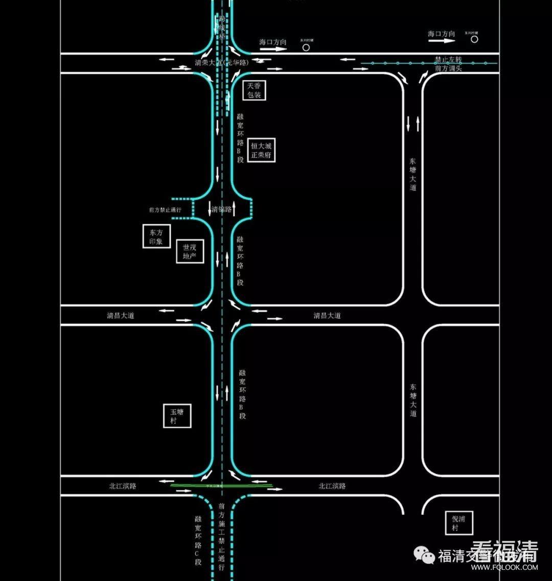 好消息:福清融宽环路B段正式试通车!!