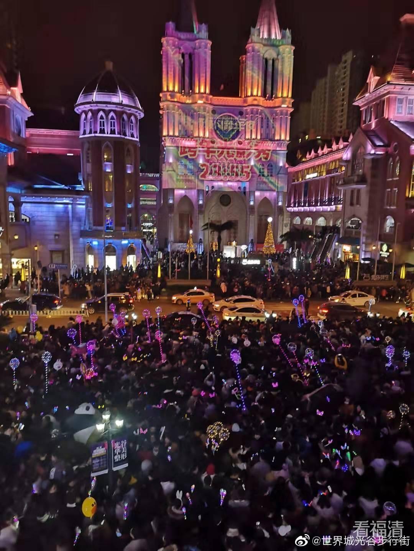 世界城光谷步行街-福清人在武汉弄的一个比较成功的盘