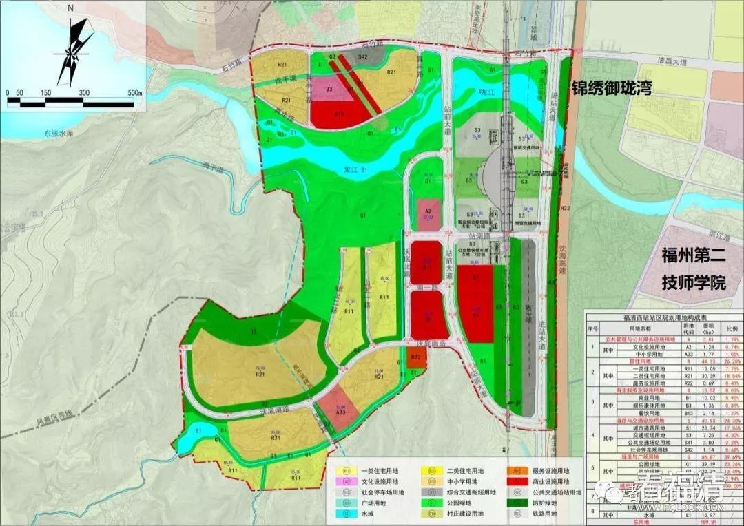规划出炉,土拍跟进,福清西站片区将成土地新粮仓