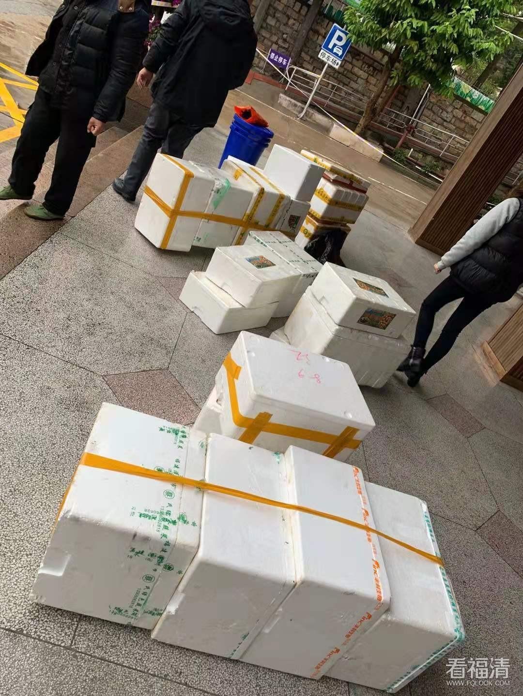 福清医院传染科急需大量中大号泡沫箱