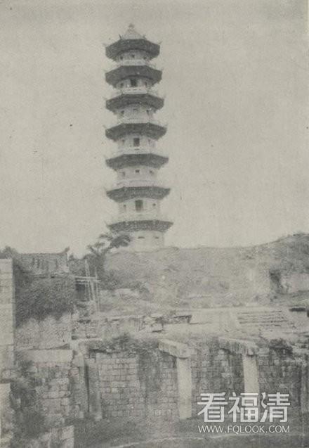 珍藏版!1933年的瑞云塔,比我奶奶年纪还大
