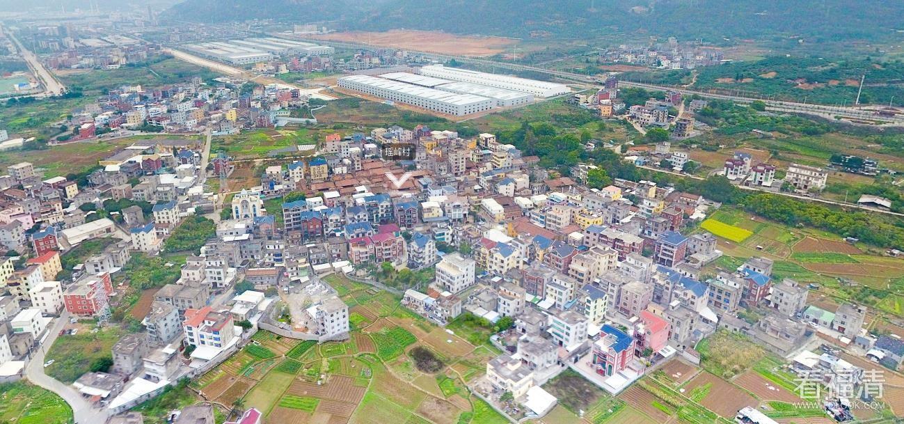 福清市瑤峰村空中720度全景