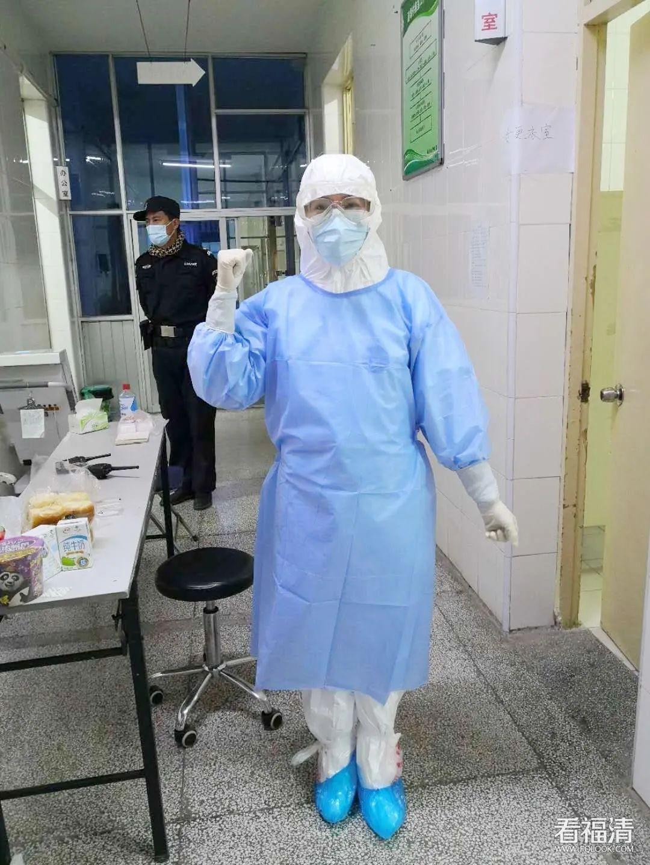 福清市中医院一名90后女护士的战疫日记!