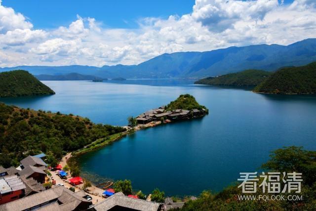 人间仙境——泸沽湖。