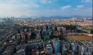 千亿国际平台市实验小学上空全景