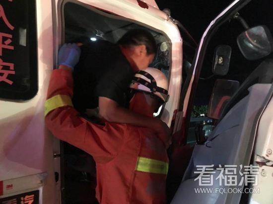 """惊险万分!福清消防员这个""""公主抱""""帅呆了!"""