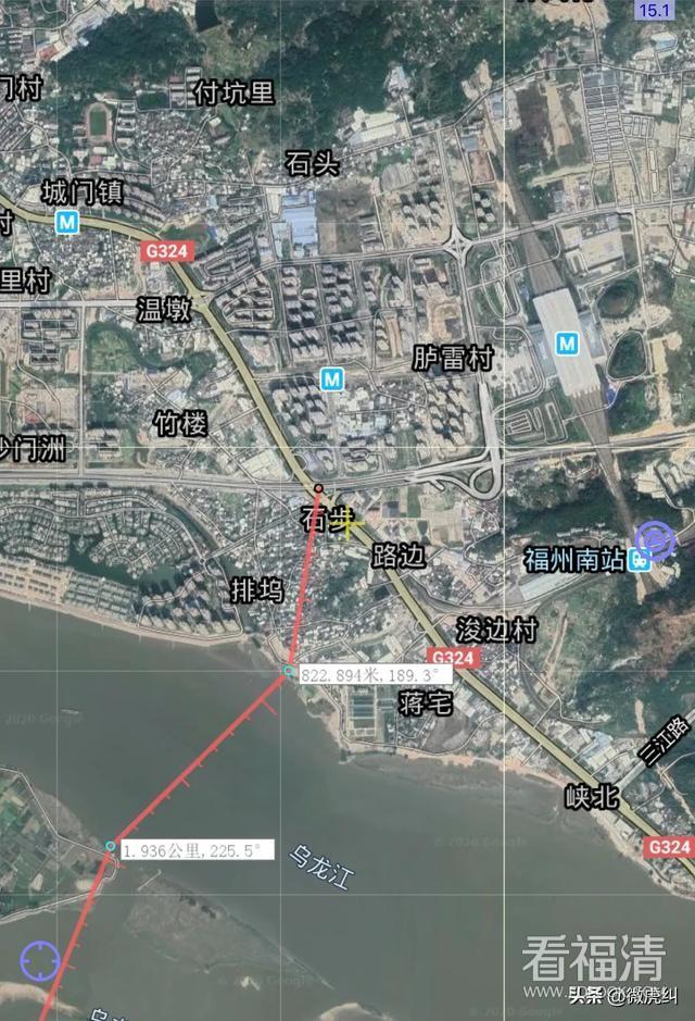 福州至福清如能修起这条路,将把二主城之间的距离拉近到22公里! ...