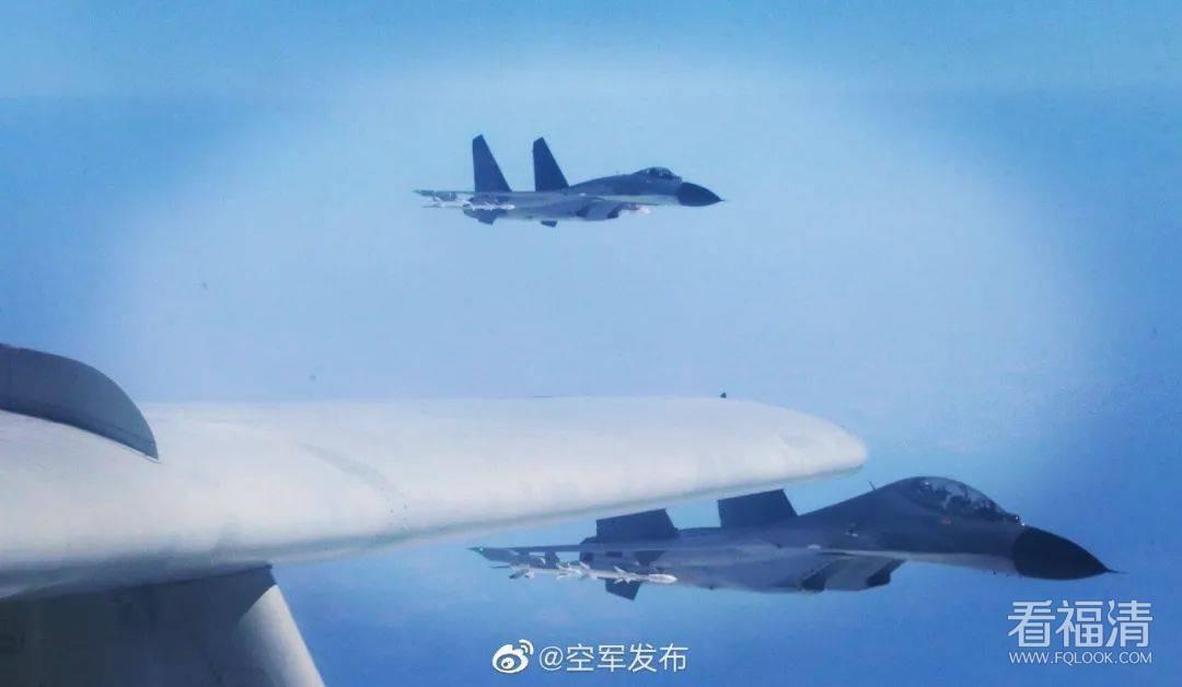 东部战区在台湾海峡实战演练