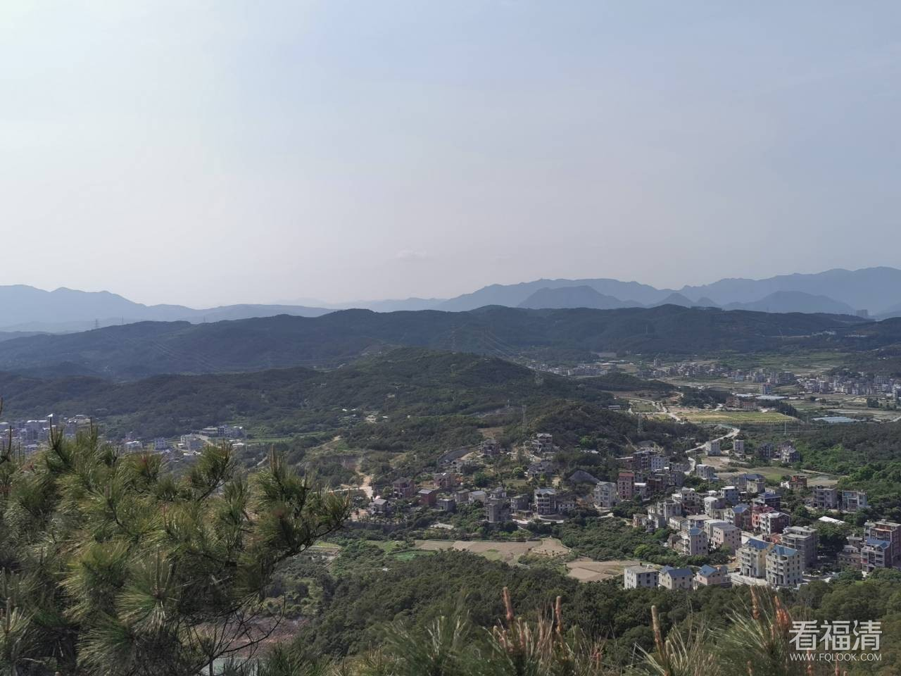 友谊村的大山风景如此美丽