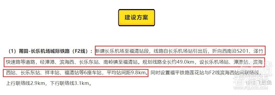 长乐机场—福清将建铁路,工作已展开