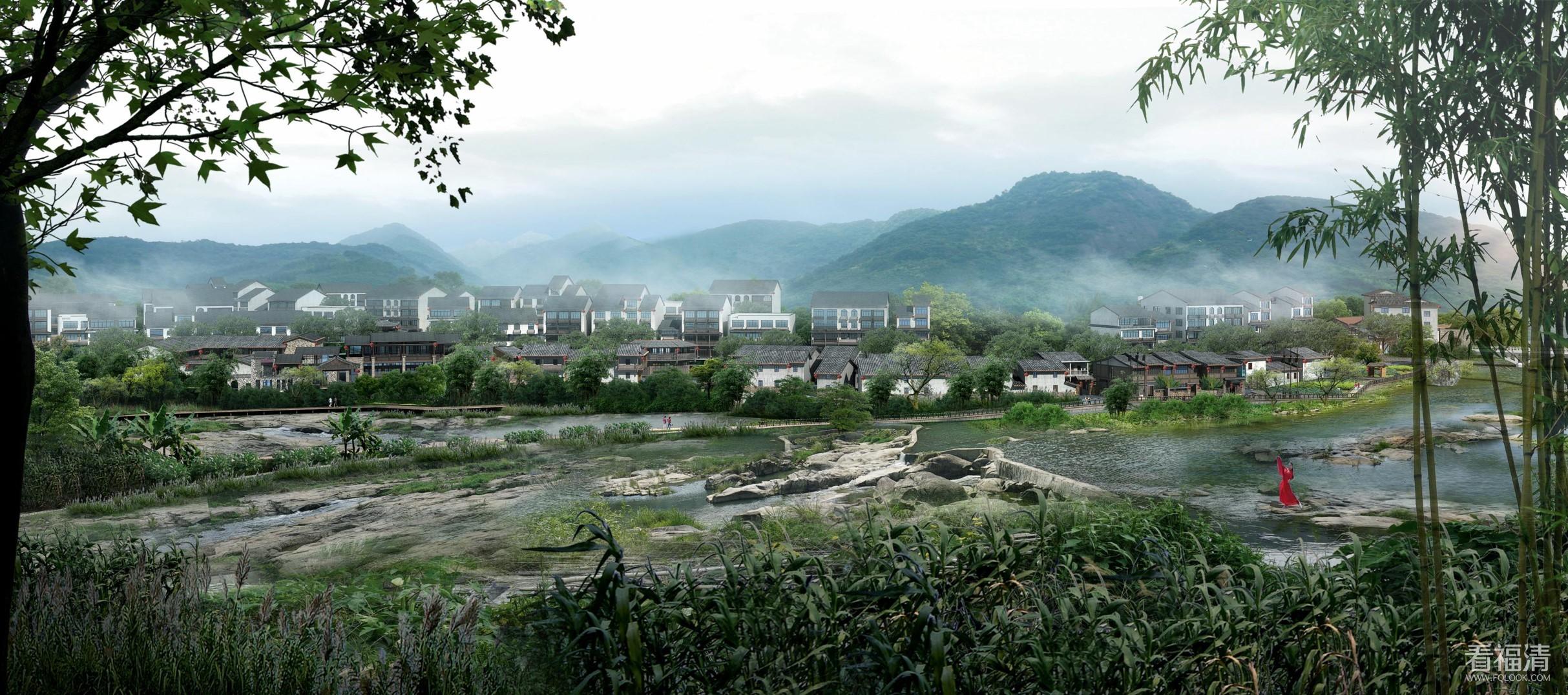 福清市一都镇新规划的效果图(好像都还没发过)