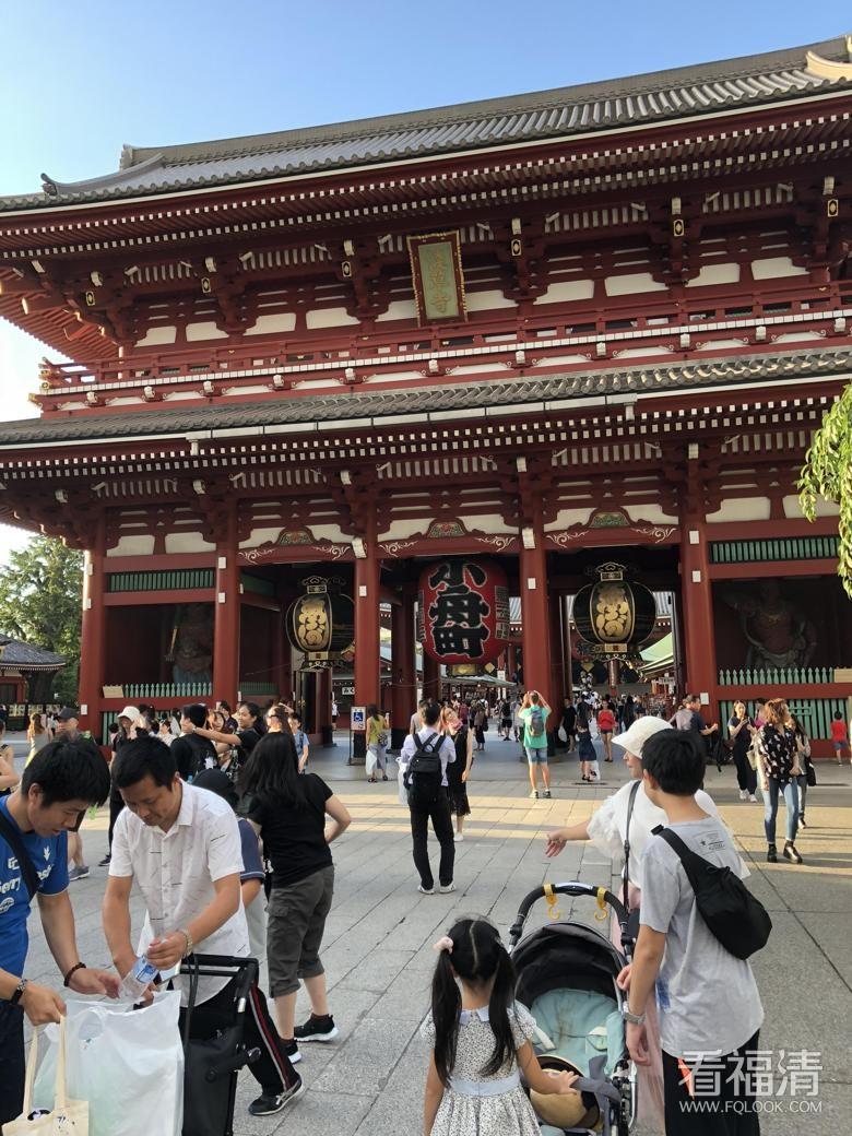 我在日本浅草寺遇到了敲诈三万日币!