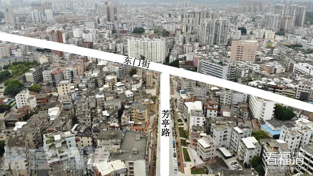 福清老城区和东区间,又有两条路连通了!