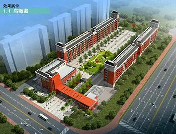 福清市滨江小学第二校区全面封顶