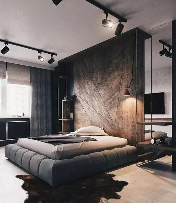 这才叫做男人的卧室