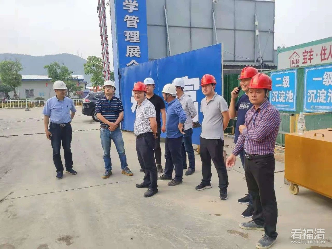 福清市医院新院二期项目主体开始封顶