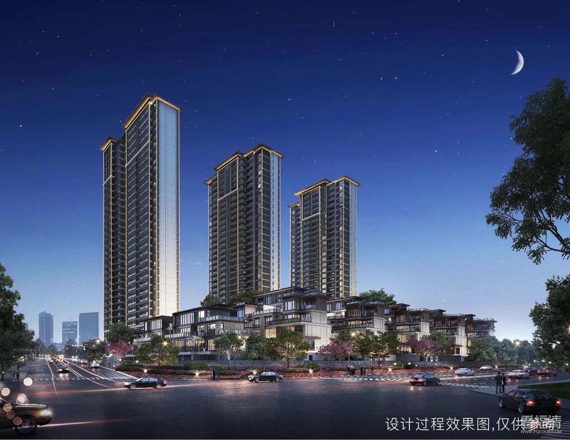 荣融·繁荣里建面约117m²-140m²墅区奢定大宅新品面市
